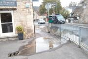 Sewage leak in Nailsworth caused by build up of fat and grease