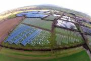 Your pictures - Dramatic aerial pictures of the new solar farm at Cambridge