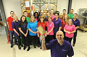 Quedgeley firm Avantis wins original golden ticket from Charlie and the Chocolate Factory